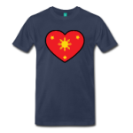 I Heart Filipinos Funny Damit tee t shirts | Oh Boy Love It
