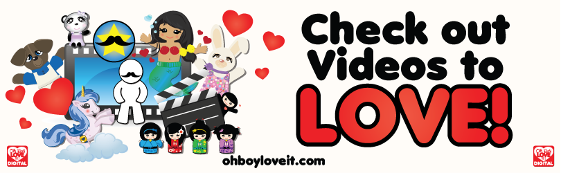 Oh Boy Love It Video Banner